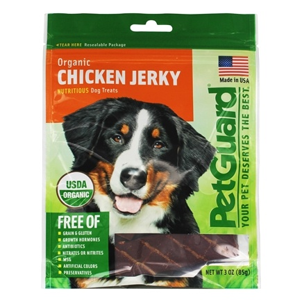 Zoom View - Organic Chicken Jerky For Dogs