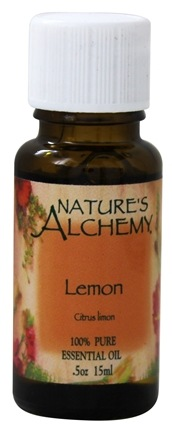 Nature's Alchemy - 100% Pure Essential Oil Lemon - 0.5 oz.