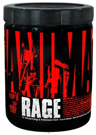 Zoom View - Animal Rage Amp'd Up Concentrated Powder