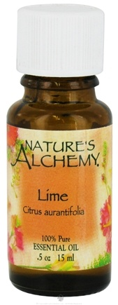 DROPPED: Nature's Alchemy - 100% Pure Essential Oil Lime - 0.5 oz. CLEARANCE PRICED