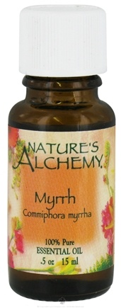 DROPPED: Nature's Alchemy - 100% Pure Essential Oil Myrrh - 0.5 oz. CLEARANCE PRICED