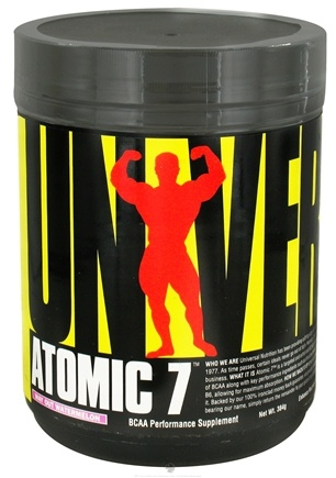 DROPPED: Universal Nutrition - Atomic 7 BCAA Performance Way Out Watermelon 30 Servings - 384 Grams CLEARANCE PRICED