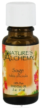 DROPPED: Nature's Alchemy - 100% Pure Essential Oil Sage - 0.5 oz. CLEARANCE PRICED
