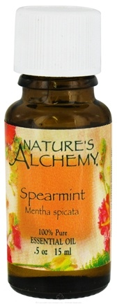 DROPPED: Nature's Alchemy - 100% Pure Essential Oil Spearmint - 0.5 oz. CLEARANCE PRICED