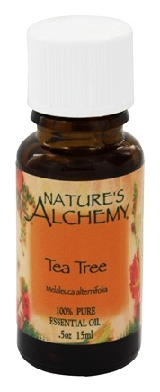 DROPPED: Nature's Alchemy - 100% Pure Essential Oil Tea Tree - 0.5 oz.