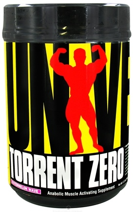 DROPPED: Universal Nutrition - Torrent Zero Post-Workout Anabolic Muscle Activating Supplement Watermelon Wave - 1.57 lbs. CLEARANCE PRICED