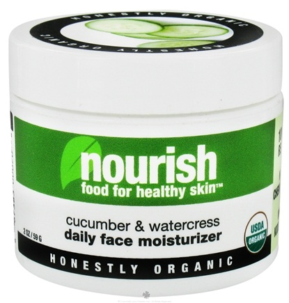 DROPPED: Nourish - Daily Face Moisturizer Cucumber & Watercress - 2 oz.