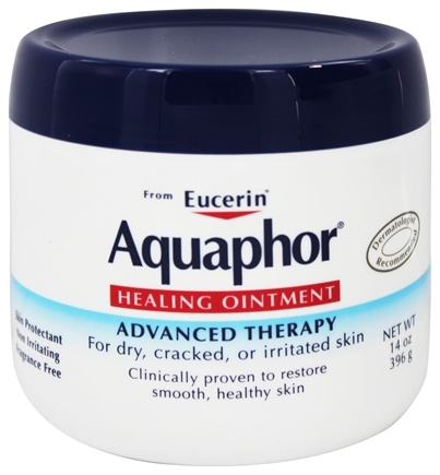 DROPPED: Eucerin - Aquaphor Advanced Therapy Healing Ointment Fragrance Free - 14 oz.