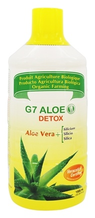 Silicium - G7 Aloe Detox - 33.85 oz. (1000 ml)