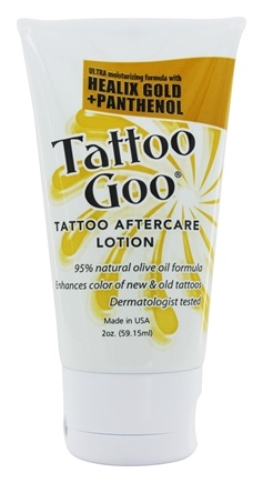 Buy tattoo goo tattoo aftercare lotion 2 oz at for Tattoo care lotion