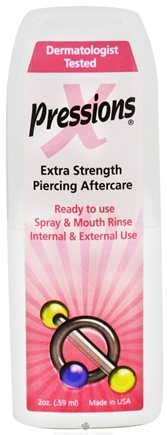 DROPPED: Tattoo Goo - X-Pressions Extra Strength Piercing Aftercare - 2 oz. CLEARANCE PRICED