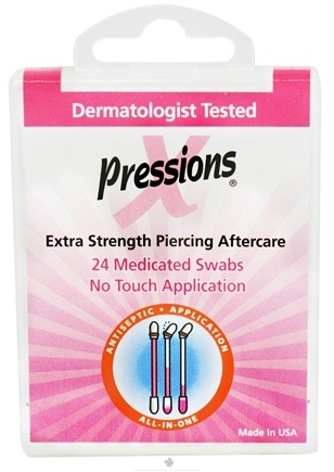 DROPPED: Tattoo Goo - X-Pressions Medicated Swabs Extra Strength Piercing Aftercare - 24 Pack CLEARANCE PRICED