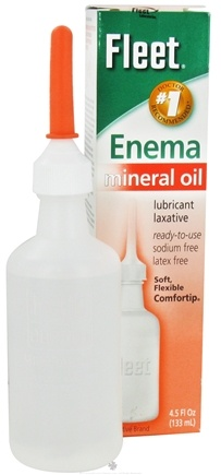 Zoom View - Fleet Enema Mineral Oil Lubricant Laxative