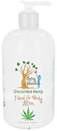DROPPED: Loving Naturals - Hand & Body Lotion Hemp Unscented - 16 oz.