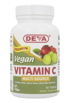 Deva Nutrition - Vegan Food Based Vitamin C - 90 Tablets