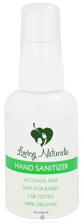 DROPPED: Loving Naturals - Hand Sanitizer Spray Alcohol Free - 2 oz.
