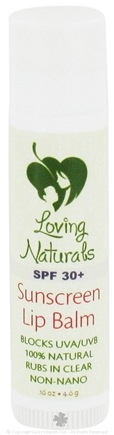 DROPPED: Loving Naturals - 100% Organic Lip Balm Birch Beer - 0.16 oz.