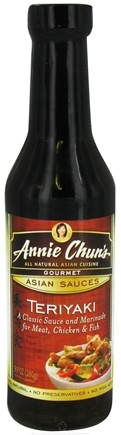 DROPPED: Annie Chun's - Gourmet Asian Sauce Teriyaki - 9.9 oz. CLEARANCE PRICED