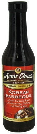 DROPPED: Annie Chun's - Gourmet Asian Sauce Korean Barbeque - 10.3 oz. CLEARANCE PRICED