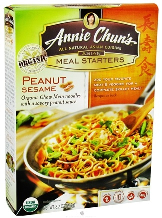 DROPPED: Annie Chun's - Asian Meal Starters Organic Peanut Sesame - 8.2 oz.
