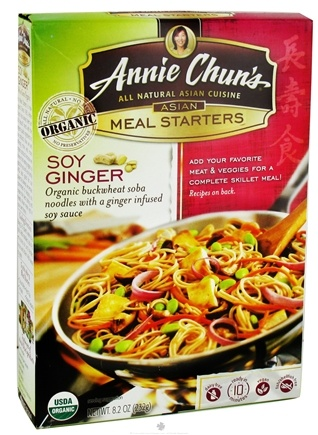 DROPPED: Annie Chun's - Asian Meal Starters Organic Soy Ginger - 8.2 oz.
