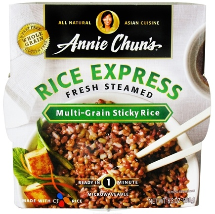 DROPPED: Annie Chun's - Rice Express Fresh Steamed Multi-Grain Sticky Rice - 6.3 oz.
