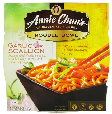 DROPPED: Annie Chun's - Noodle Bowl Garlic Scallion - 7.7 oz. CLEARANCE PRICED