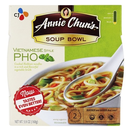 DROPPED: Annie Chun's - Soup Bowl Vietnamese Pho - 6 oz. CLEARANCE PRICED
