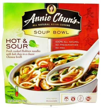 DROPPED: Annie Chun's - Soup Bowl Hot & Sour - 5.5 oz. CLEARANCE PRICED