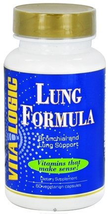 DROPPED: Vita Logic - Lung Formula - 60 Vegetarian Capsules