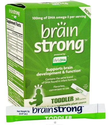 DROPPED: Amerifit Brands - BrainStrong Toddler DHA - 30 Packet(s)