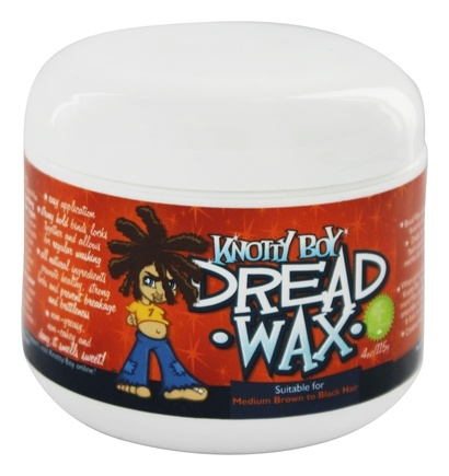 DROPPED: Knotty Boy - Dread Wax Dark Hair - 4 oz.