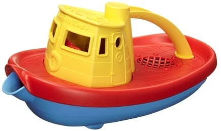 DROPPED: Green Toys - My First Tugboat 6 months+ Yellow - CLEARANCE PRICED