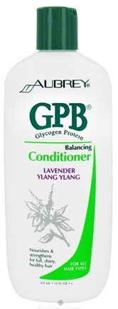 DROPPED: Aubrey Organics - GPB Glycogen Protein Balancing Conditioner Lavender Ylang Ylang - 11 oz. CLEARANCE PRICED