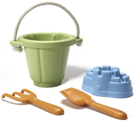 DROPPED: Green Toys - Sand Play Set 18 months+ Green - CLEARANCE PRICED