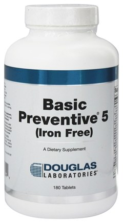 Zoom View - Basic Preventive 5 Iron-Free