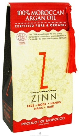 DROPPED: Zinn Collection - 100% Moroccan Argan Oil - 2 oz.