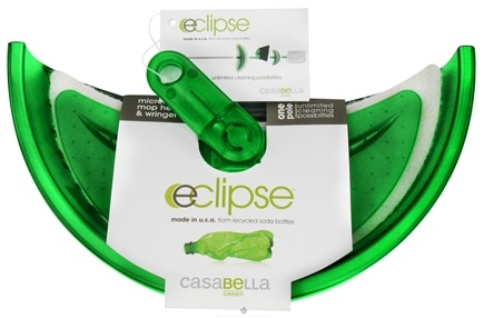 DROPPED: CasaBella Green - Eclipse Microfiber Mop Head & Wringer - CLEARANCE PRICED
