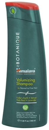DROPPED: Botanique by Himalaya - Shampoo Volumizing for Normal to Fine Hair - 11.83 oz. Formerly Organique by Himalaya