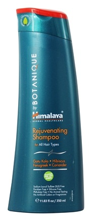 DROPPED: Botanique by Himalaya - Shampoo Rejuvenating for All Hair Types - 11.83 oz. Formerly Organique by Himalaya