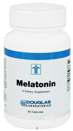 DROPPED: Douglas Laboratories - Melatonin - 60 Capsules CLEARANCE PRICED