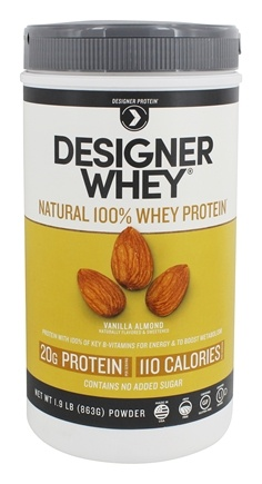 Zoom View - Designer Whey 100% Whey Protein Powder