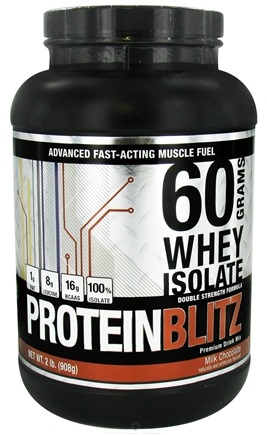 Zoom View - Designer Whey Protein Blitz 60 Grams Whey Isolate