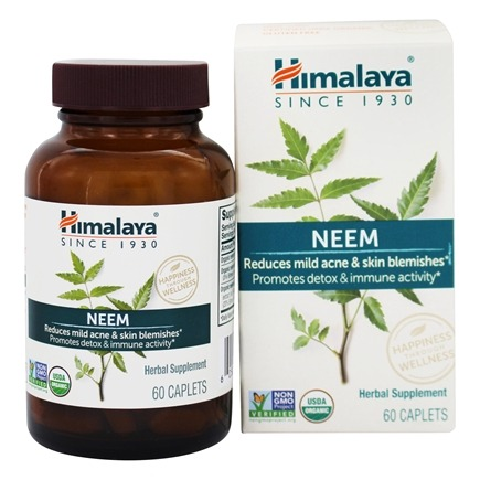 Himalaya Herbal Healthcare - Neem Detox & Immune Activity - 60 Caplets