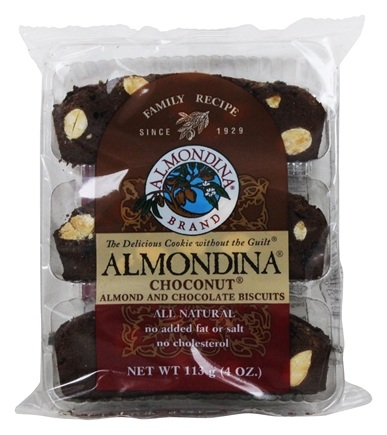 Almondina - Choconut Almond And Chocolate Biscuits - 4 oz.