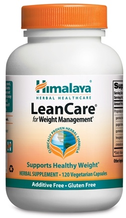 DROPPED: Himalaya Herbal Healthcare - LeanCare with Garcinia for Weight Management - 120 Vegetarian Capsules CLEARANCE PRICED