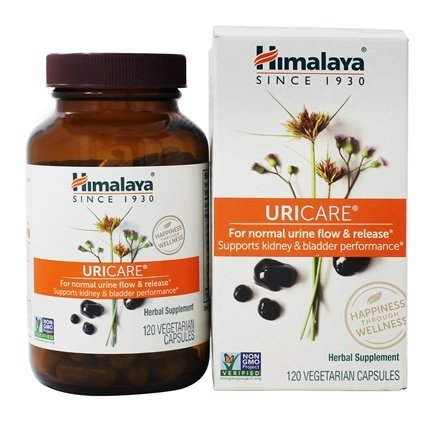 Himalaya Herbal Healthcare - UriCare Cystone for Urinary Support - 120 Vegetarian Capsules