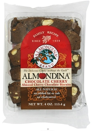 DROPPED: Almondina - Chocolate Cherry Almond Cherry Chocolate Biscuits - 4 oz.