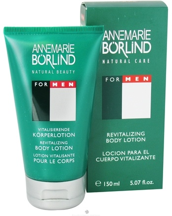 DROPPED: Annemarie Borlind - Natural Care For Men Revitalizing Body Lotion - 5.07 oz. CLEARANCE PRICED