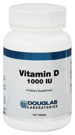 Douglas Laboratories - Vitamin D 1000 IU - 100 Tablets